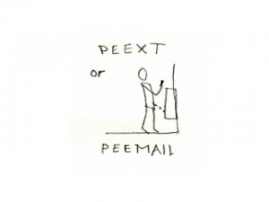 peexting