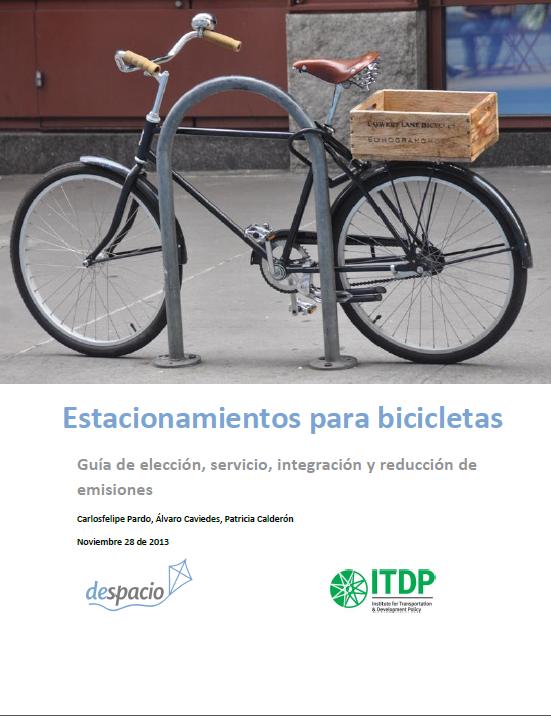 guia estacionamientos bicicletas