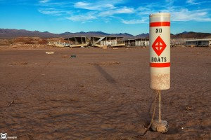 Drought on Lake Mead, Nevada