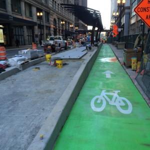 Chicago bike lane