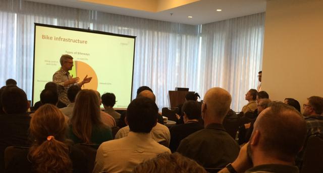 Chris Morfas presenting at NACTO 2015