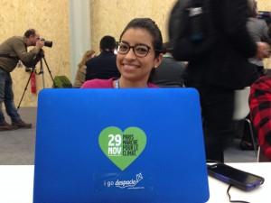 Sticker Despacio en la COP21