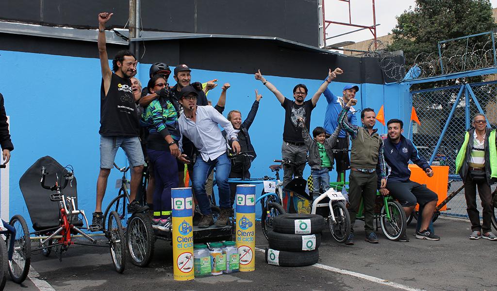 Grupo del Cargo Bike Festival 2016